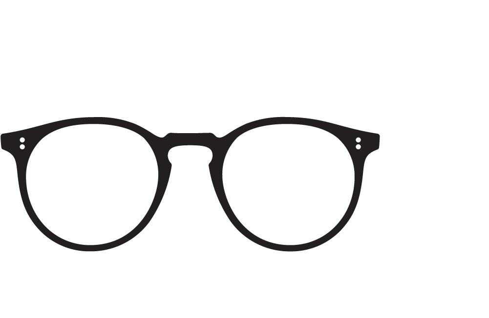eyeglasses frame icon